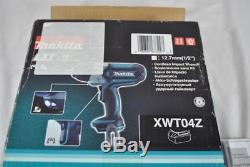 New Makita LXT 18V 1/2 (12.7mm) XWT04Z Cordless Impact Wrench (Tool Only)