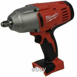 New Milwaukee 18 Volt M18 High Torque Impact Wrench With Friction Ring # 2663-20