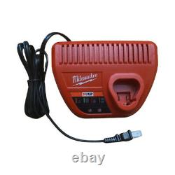 New Milwaukee 2555-20 M12 Cordless 1/2 Impact Wrench 48-11-2412 Battery Charger
