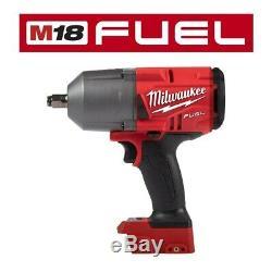 New Milwaukee FUEL 2767-20 18V 1/2 Cordless Brushless Impact Wrench Ring M18