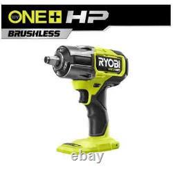 New RYOBI ONE+ HP 18V Brushless Cordless 4-Mode 1/2 in. Impact Wrench P262