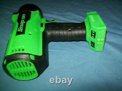 New Snap-on Lithium Ion CT9100G 18V 18 Volt cordless 3/4 impact Wrench / Gun