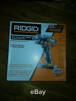 RIDGID 18V GEN5X Cordless Brushless 1/2 in. Impact Wrench (Tool-Only!) R86011B