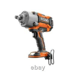 RIDGID 18-Volt OCTANE Cordless 1/2 in. High Torque Impact Wrench Tool-Only