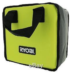 RYOBI P1833 18V 1/2 Cordless Impact Wrench KIT Battery Charger Bag BUNDLE P261