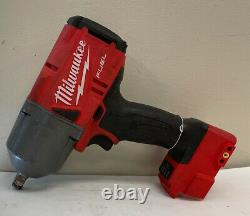 Read Desc Milwaukee FUEL 2767-20 M18 1/2 Cordless Brushless Impact Wrench