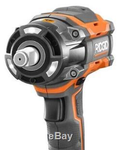 Ridgid 18-Volt OCTANE Cordless Brushless 1/2 Impact Wrench & Belt Clip R86011B