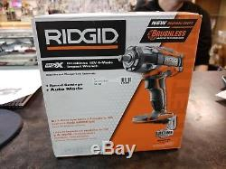 Ridgid R86011B 18V Li-Ion Cordless Gen5X 1/2 450 ft. Lbs Impact Wrench BRAND NEW
