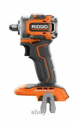 Ridgid R87208B 1/2 18V SubCompact Lithium-Ion Cordless Brushless Impact Wrench