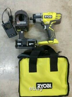 Ryobi 18V Cordless 1/2 Impact Wrench with 4.0aH Battery & Charger Model# P261