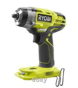 Ryobi One+ 18 Volt Cordless 3-Speed 1/2 & 3/8 Impact Wrench Combo (Tool Only)