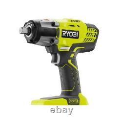 Ryobi P261 18V Li-Ion 1/2 3-Speed Impact Wrench (Tool Only) NEW