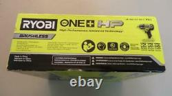 Ryobi P262 ONE+ HP 18V Brushless Cordless 4-Mode 1/2 in. Impact Wrench, NEW