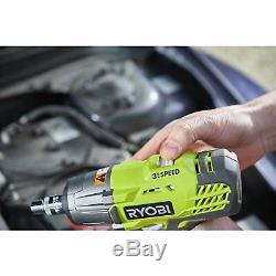 Ryobi R18IW3-0 18V ONE+ Cordless 3-Speed Impact Wrench (Body Only) Body Only
