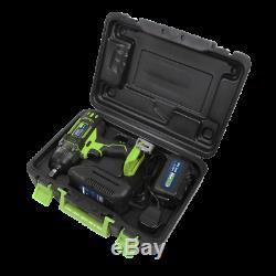 Sealey CP400LIHV 18V Cordless 1/2Sq Impact Wrench with 3.0Ah Li-ion Hi-Vis Kit