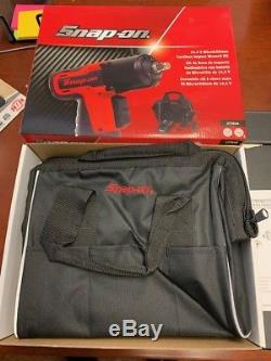 Snap-On 14.4 V 3/8 Drive MicroLithium Cordless Impact Wrench Kit CT761A