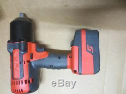 Snap On 18V 1/2 Drive Cordless Monster Lithium Impact Wrench CT8850 4.0 battery