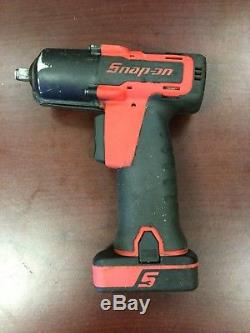 Snap On CT7610 14.4V 3/8 Drive Micro Lithium Cordless Impact Wrench