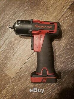 Snap-On CT761A 14.4V 3/8 Drive Cordless Mirco Lithium Impact Wrench Kit