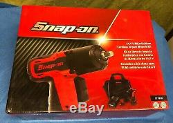 Snap On CT761A 3/8 Drive 14.4V MicroLithium Cordless Impact Wrench Kit