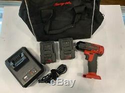 Snap-On CT8810B 3/8 MonsterLithium 18v Cordless Impact Wrench Kit, 2 Batteries