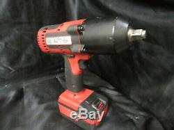 Snap-On CT8850 1/2 cordless impact wrench with battery