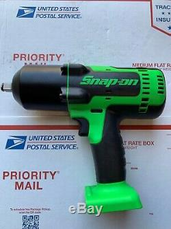 Snap On Cordless Impact Wrench CT8850G 1/2 Drive. Please Read Descriptions