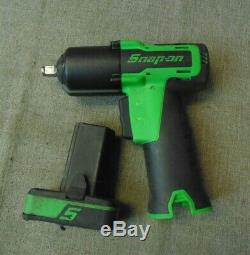 Snap On Ct761ag 14.4v 3/8'' Drive Cordless Impact Wrench (108151-1 H)