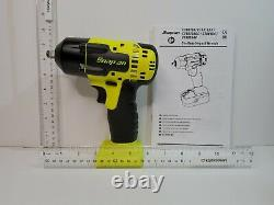 Snap On Tools 3/8Drive 18V Compact Cordless Impact Wrench CT8810BHVDB(Yellow)