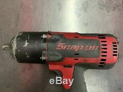 Snap-On Tools CT8850 1/2 Drive 18V Cordless Impact Wrench With Battery CTB7185
