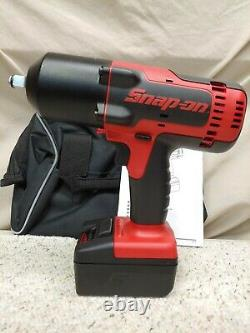 Snap-onCT88501/2 18VoltMonsterLithium-Ion Impact Wrench SET2-5.0AhBattNew