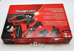 Snap-on 14.4V MicroLithium Cordless Combo Kit and 14.4 V 1/4 Impact Wrench